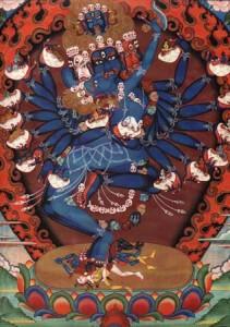 Страстью мир связан, Страстью же он освобождается.Хеваджра-тантра.