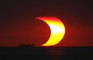 Солнечное затмение на Филлипинах